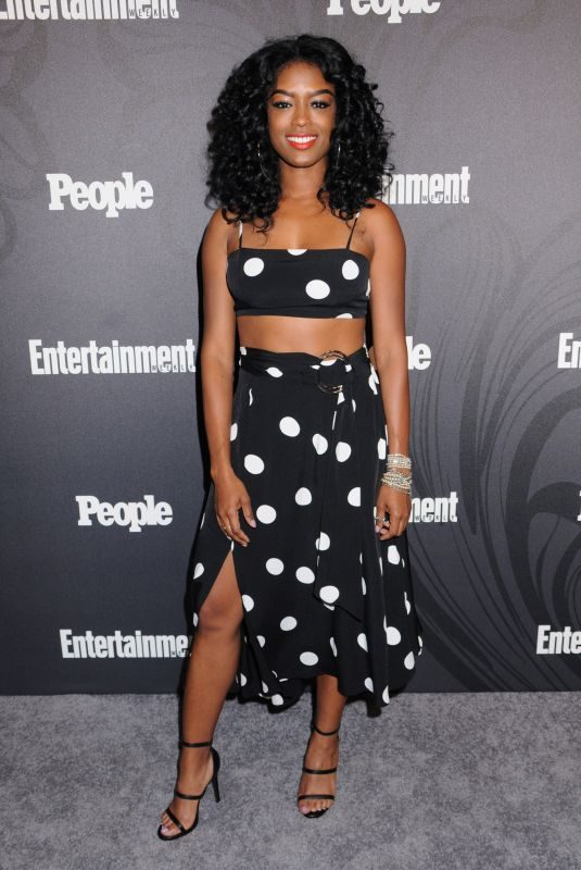JAVICIA LESLIE at EW & People New York Upfronts Celebration 05/14/2018