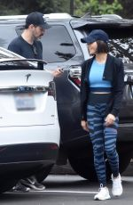 JENNA DEWAN Out with Her Dog in Studio City 05/23/2018