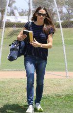 JENNIFER GARNER at a Baseball Fields in Brentwood 05/26/2018