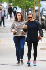JENNIFER GARNER Out for Coffee in Brentwood 05/21/2018