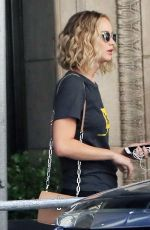 JENNIFER LAWRENCE Out and About in New York 05/28/2018