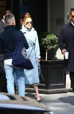 JENNIFER LOPEZ and Alex Rodrigues Out in New York 05/10/2018