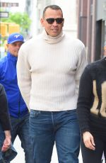 JENNIFER LOPEZ and Alex Rodrigues Out Shopping in New York 05/11/2018