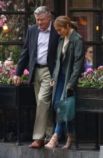 JENNIFER LOPEZ and Treat Williams on the Set of Second Act in New York 05/06/2018