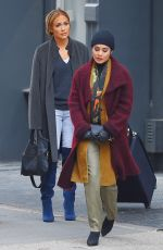 JENNIFER LOPEZ and VANESSA HUDGENS on the Se of Second Act in New York 05/06/2018