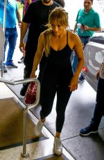 JENNIFER LOPEZ Arrives at a Gym in Miami 05/24/2018