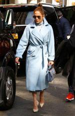 JENNIFER LOPEZ Arrives at NBC Studios in New York 05/10/2018