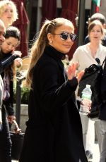 JENNIFER LOPEZ Leaves Equinox Gym in New York 05/09/2018