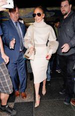 JENNIFER LOPEZ Leaves NBC Studios in New York 05/09/2018
