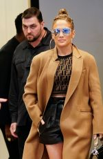 JENNIFER LOPEZ Leaves TRL in New York 05/09/2018