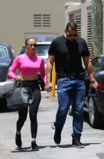 JENNIFER LOPEZ Out and About in Miami 05/04/2018