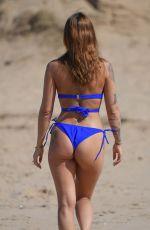 JENNY THOMPSON in Bikini at a Beach in Costa Del Sol 05/30/2018