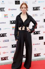 JESS GLYNNE at LGBT Awards 2018 in London 05/11/2018