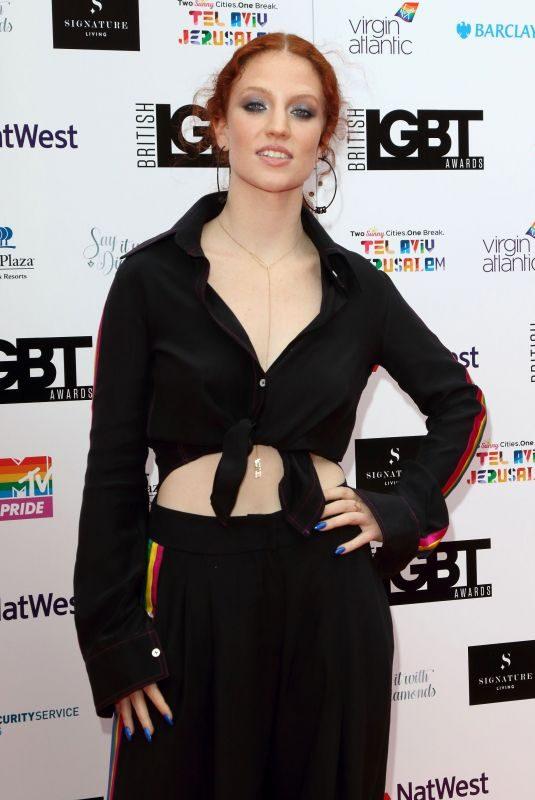 JESS GLYNNE at LGBT Awards 2018 in London 05/11/2018