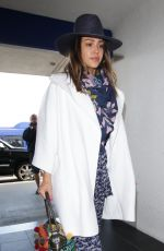 JESSICA ALBA at LAX Airport in Los Angeles 04/29/2018