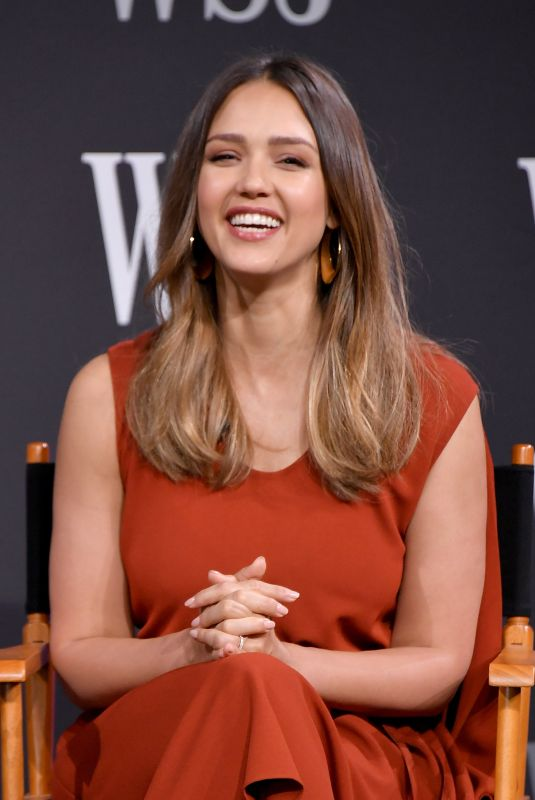 JESSICA ALBA at WSJ Future of Everything Festival in New York 05/08/2018