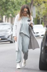 JESSICA ALBA Out for Coffee in Beverly Hills 05/19/2018