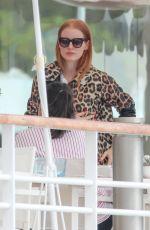 JESSICA CHASTAIN at Hotel Du Cap Eden-roc in Antibes 05/09/2018