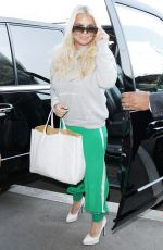 JESSICA SIMPSON at LAX Airport in Los Angeles 05/09/2018