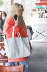 JESSICA SIMPSON Out for Lunch in Beverly Hills 05/25/2018