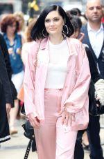 JESSIE J Arrives at Good Morning America in New York 05/29/2018