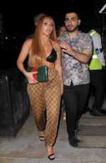 JESY NELSON Leaves Bunga Bunga in London 05/27/2018