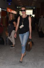 JODIE KIDD Arrives at Nice Airport 05/11/2018