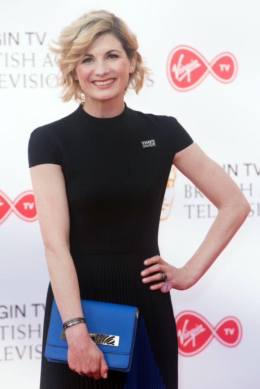 JODIE WHITTAKER at Bafta TV Awards in London 05/13/2018