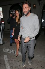 JORDANA BREWSTER and Andrew Form Leaves Craig