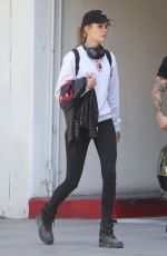 JOSEPHINE SKRIVER Out and About in Santa Monica 05/03/2018