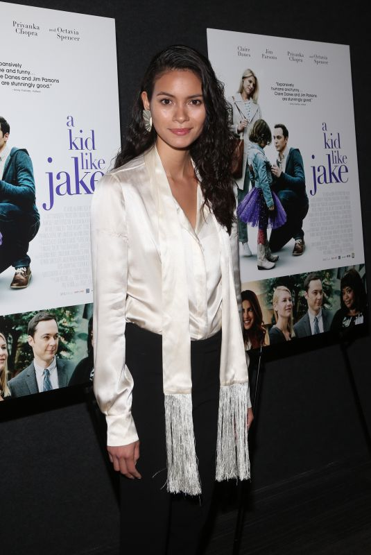 JUANA BURGA at A Kid Like Jake Premiere in New York 05/21/2018