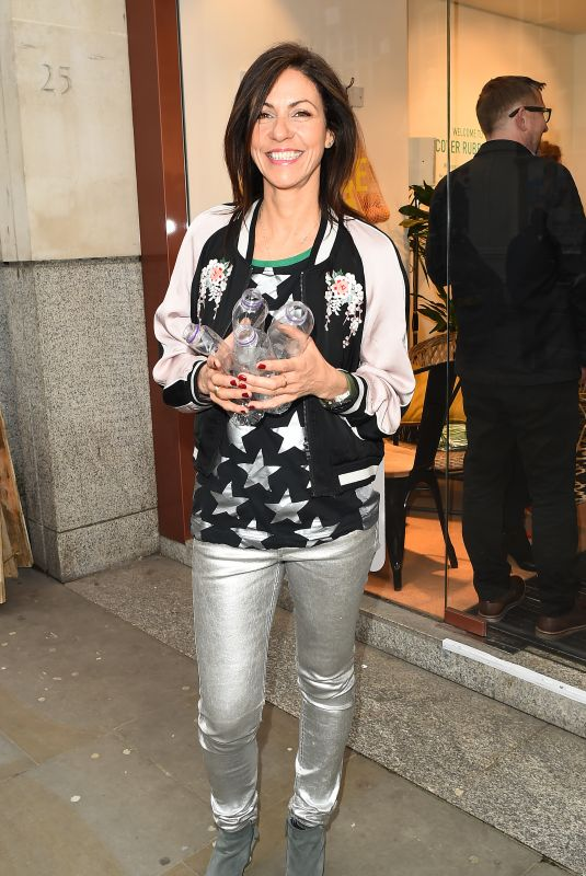 JULIA BRADBURY at Rubbish Cafe Launch Party in London 05/02/2018