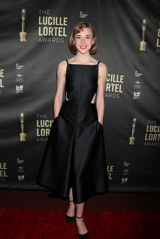 JULIA KNITEL at 2018 Lucille Lortel Awards in New York 05/06/2018