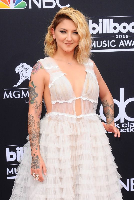 JULIA MICHAELS at Billboard Music Awards in Las Vegas 05/20/2018