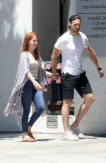 JULIANNE HOUGH and Brooks Laich Leaves a Doctors Office in Beverly Hills 05/03/2018