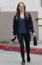 JULIANNE HOUGH Heading to a Gym in Los Angeles 04/30/2018