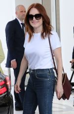 JULIANNE MOORE at Hotel Martinez in Cannes 05/07/2018