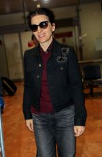 JULIETTE BINOCHE at Nice Airport 05/13/2018