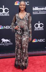 JUSTINE SKYE at Billboard Music Awards in Las Vegas 05/20/2018