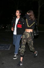 KAIA GERBER and Travis Jackson Night Out in Malibu 04/29/2018