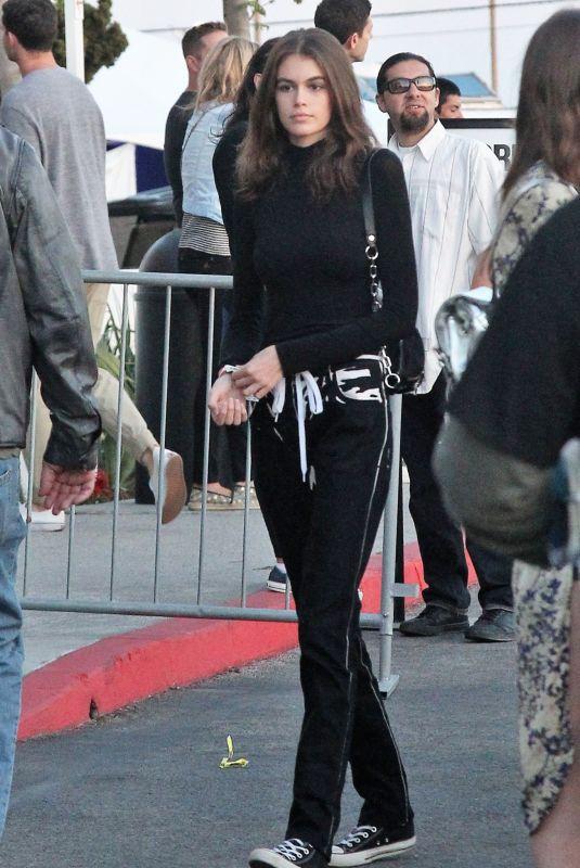 KAIA GERBER at U2 Concert in Los Angeles 05/15/2018