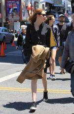 KAREN GILLAN at Zoe Saldana Star on the Hollywood Walk of Fame Ceremnoy in Los Angeles 05/03/2018
