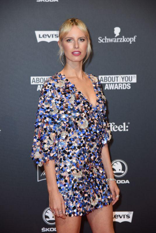 KAROLINA KURKOVA at About You Awards 2018 in Munich 05/03/2018