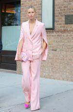 KAROLINA KURKOVA Leaves Her Hotel in New York 05/14/2018
