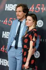 KATE ARRINGTON at Fahrenheit 451 Premiere in New York 05/08/2018
