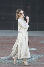 KATE BECKINSALE Arrives in Cape Town 05/16/2018