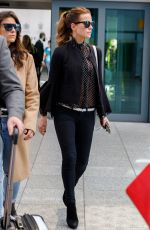 KATE BECKINSALE at Heathrow Airport in London 05/14/2018