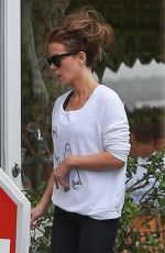 KATE BECKINSALE Out and About in Brentwood 05/11/2018