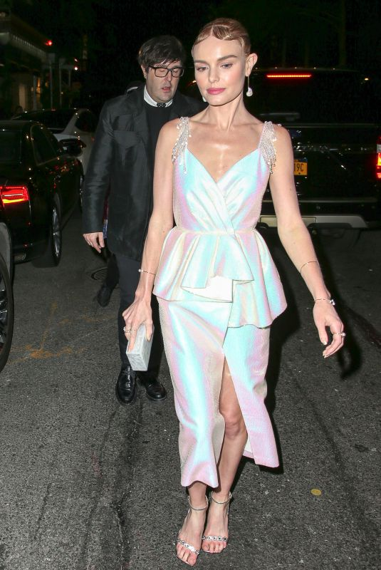 KATE BOSWORTH at MET Gala After-party in New York 05/07/2018