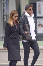 KATE MARA and Jaime Bell Out in New York 05/17/2018